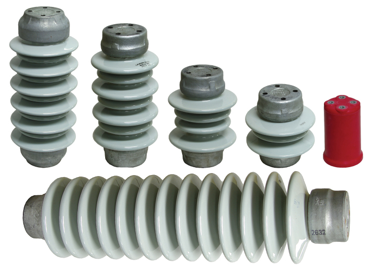 5kV - 115kV Outdoor Porcelain and Indoor Glastic Insulators. Call to order.
